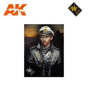 YM YM1847 U-BOAT COMMANDER WWII AK-INTERACTIVE YOUNG MINIATURES