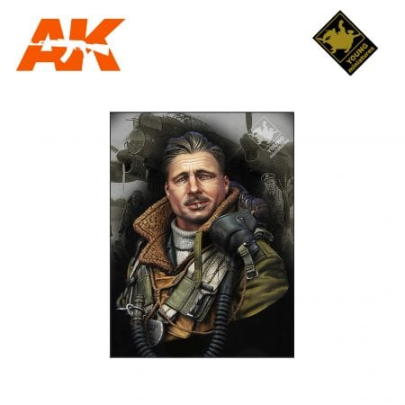 YM YM1850 RAF BOMBER COMMAND WWII AK-INTERACTIVE YOUNG MINIATURES