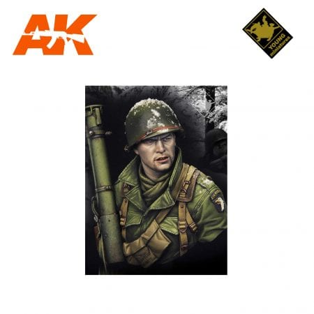 YM YM1855 EASY COMPANY BASTOGNE 1944 AK-INTERACTIVE YOUNG MINIATURES