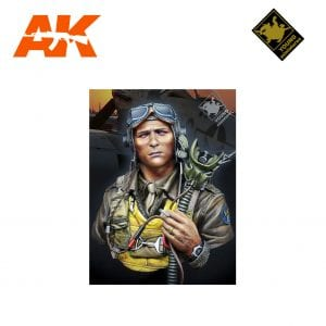 YM YM1856 USAAF FIGHTER PILOT 1944 AK-INTERACTIVE YOUNG MINIATURES