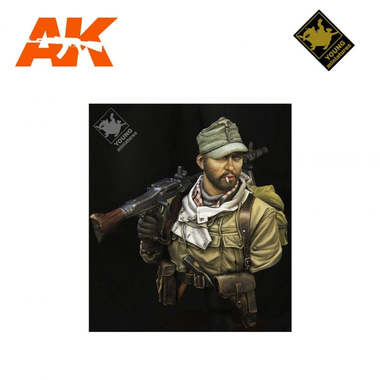 YM YM1860 SS GEBIRGSJAGER WII AK-INTERACTIVE YOUNG MINIATURES