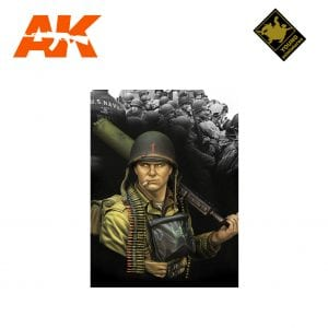 YM YM1861 D-DAY NORMANDY 1944 1ST INFANTRY DIVISION AK-INTERACTIVE YOUNG MINIATURES