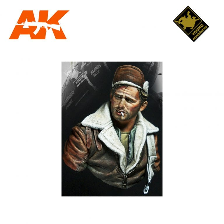YM YM1862 B-17 BOMBER CREW AK-INTERACTIVE YOUNG MINIATURES