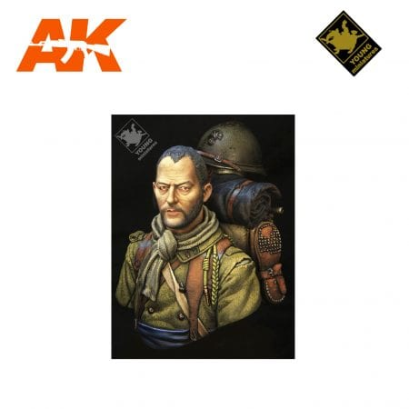 YM YM1863 FRENCH FOREIGNLEGION WWII AK-INTERACTIVE YOUNG MINIATURES