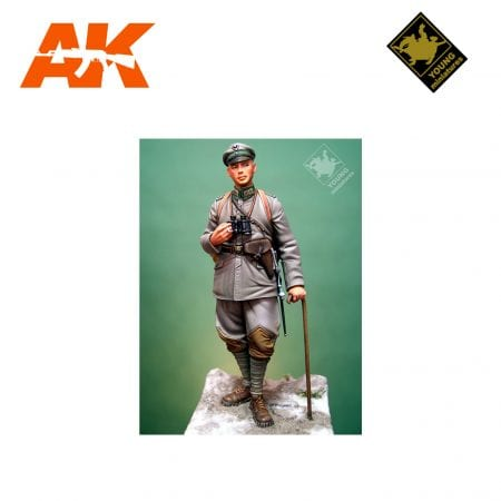 YM YM7001-R OBERLEUNTNANT 3RD LIGHT INFANTRY REGIMENT1917 AK-INTERACTIVE YOUNG MINIATURES