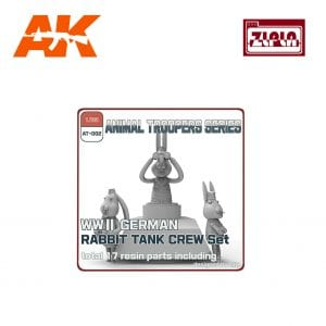 ZL AT-002 wwii german rabbit tank crew set ak-interactive zlpla