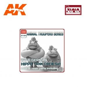 ZL AT-004 wwii german hippo tank crew set b ak-interactive zlpla