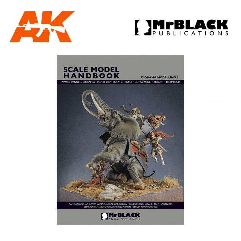 Scale Model Handbook diorama modelling 2 mr black publications ak-interactive