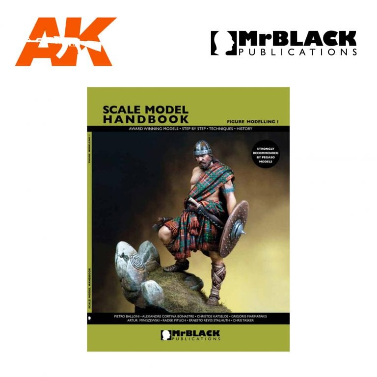 Scale Model Handbook Figure modelling 1 mr black publications ak-interactive