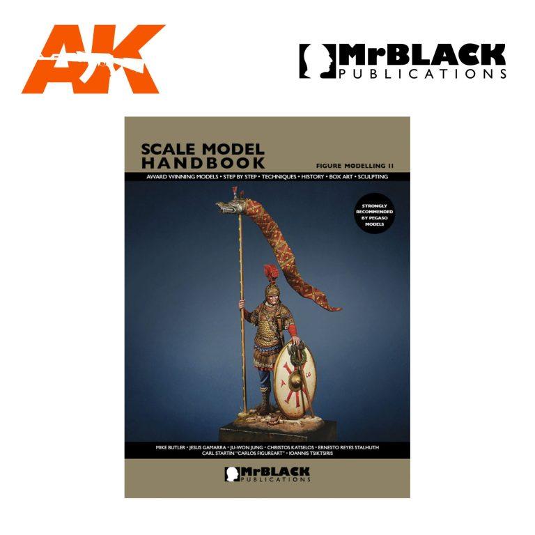 Scale Model Handbook Figure modelling 11 mr black publications ak-interactive