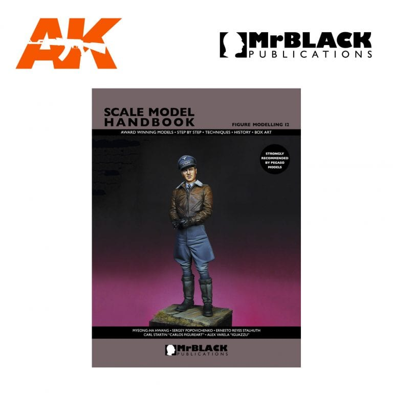 Scale Model Handbook Figure modelling 12 mr black publications ak-interactive