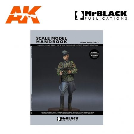 Scale Model Handbook Figure modelling 13 mr black publications ak-interactive