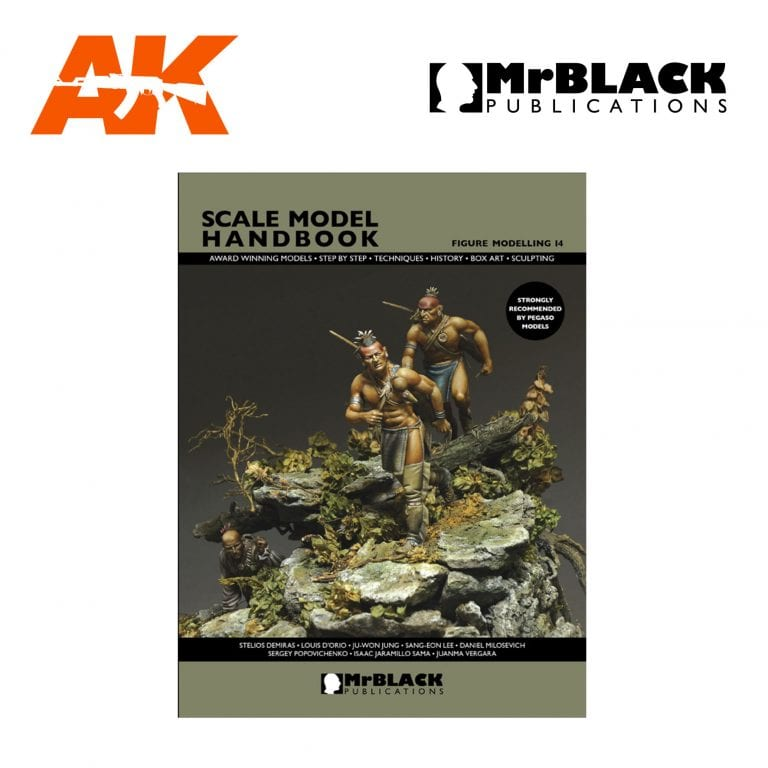 Scale Model Handbook Figure modelling 14 mr black publications ak-interactive