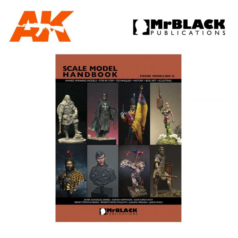 Scale Model Handbook Figure modelling 16 mr black publications ak-interactive