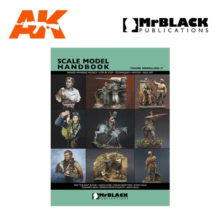 Scale Model Handbook Figure modelling 17 mr black publications ak-interactive