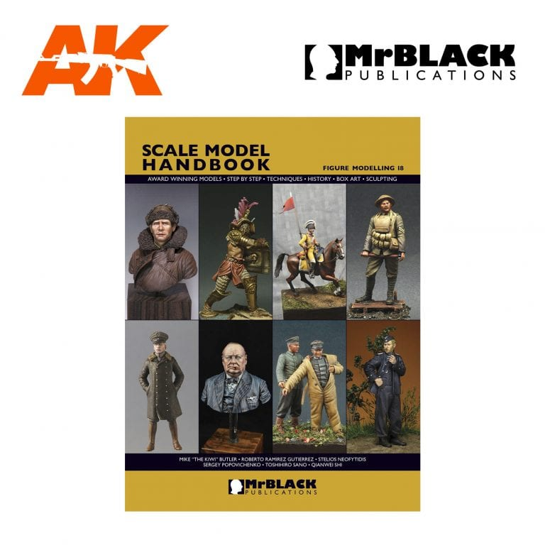 Scale Model Handbook Figure modelling 18 mr black publications ak-interactive