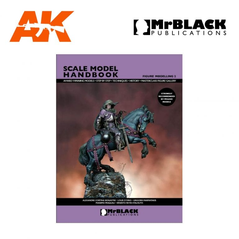 Scale Model Handbook Figure modelling 2 mr black publications ak-interactive