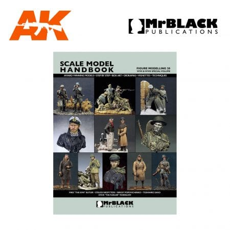 Scale Model Handbook Figure modelling 20 mr black publications ak-interactive