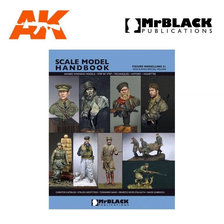 Scale Model Handbook Figure modelling 21 mr black publications ak-interactive