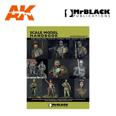 Scale Model Handbook Figure modelling 22 mr black publications ak-interactive