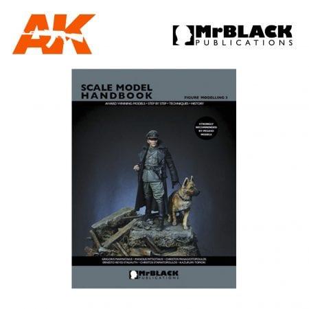 Scale Model Handbook Figure modelling 3 mr black publications ak-interactive