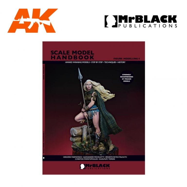 Scale Model Handbook Figure modelling 4 mr black publications ak-interactive