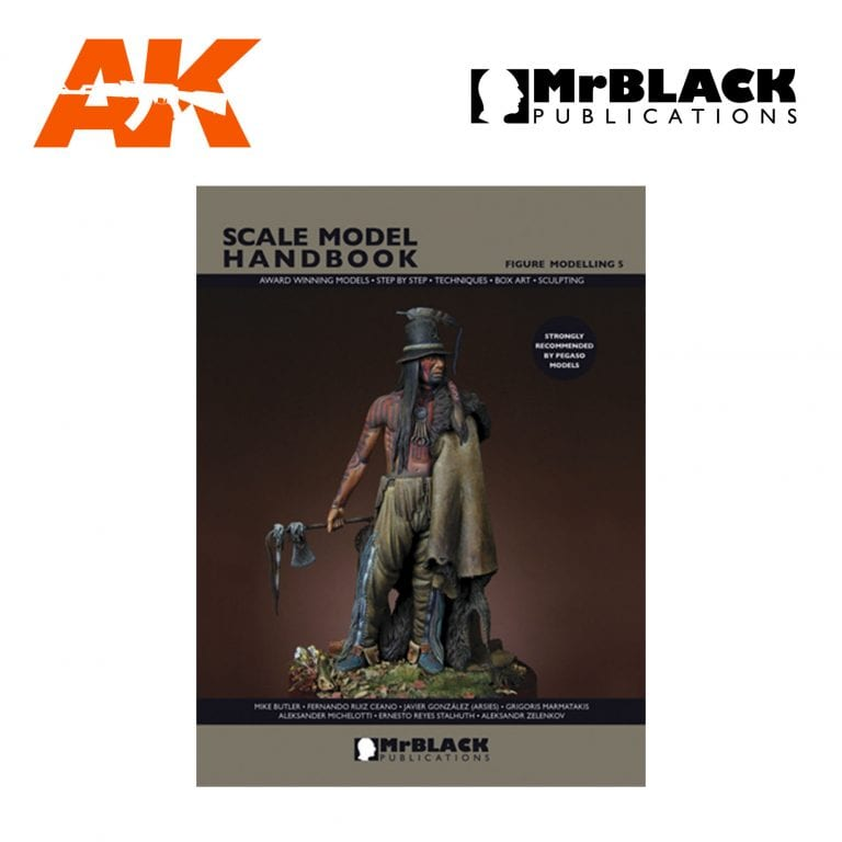 Scale Model Handbook Figure modelling 5 mr black publications ak-interactive