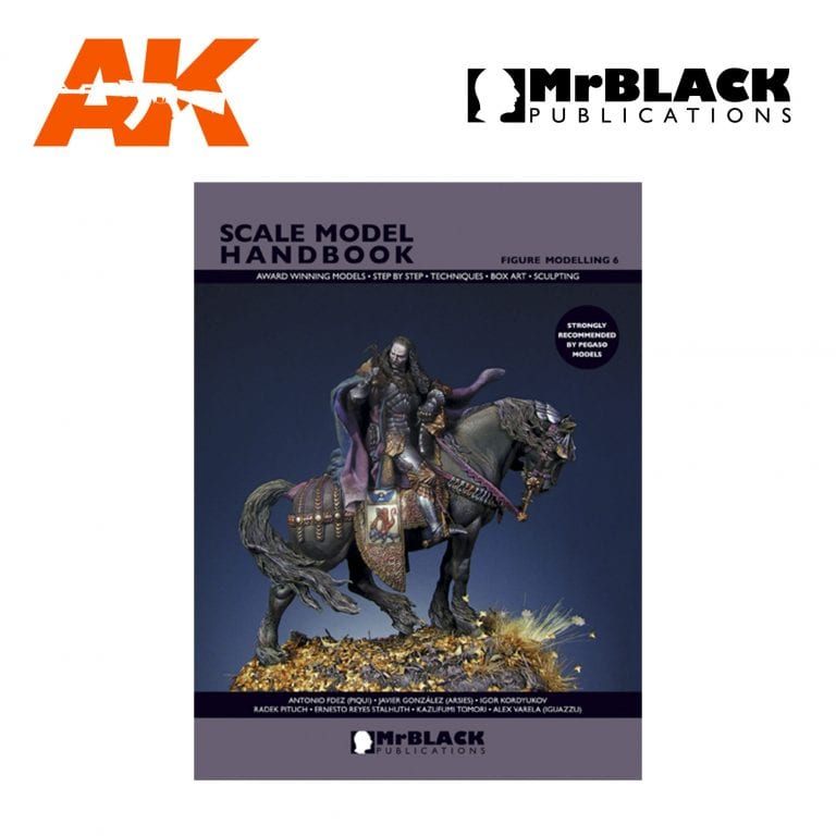 Scale Model Handbook Figure modelling 6 mr black publications ak-interactive
