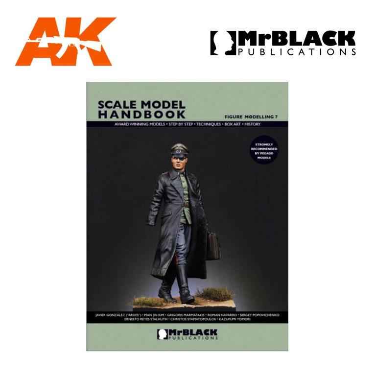 Scale Model Handbook Figure modelling 7 mr black publications ak-interactive