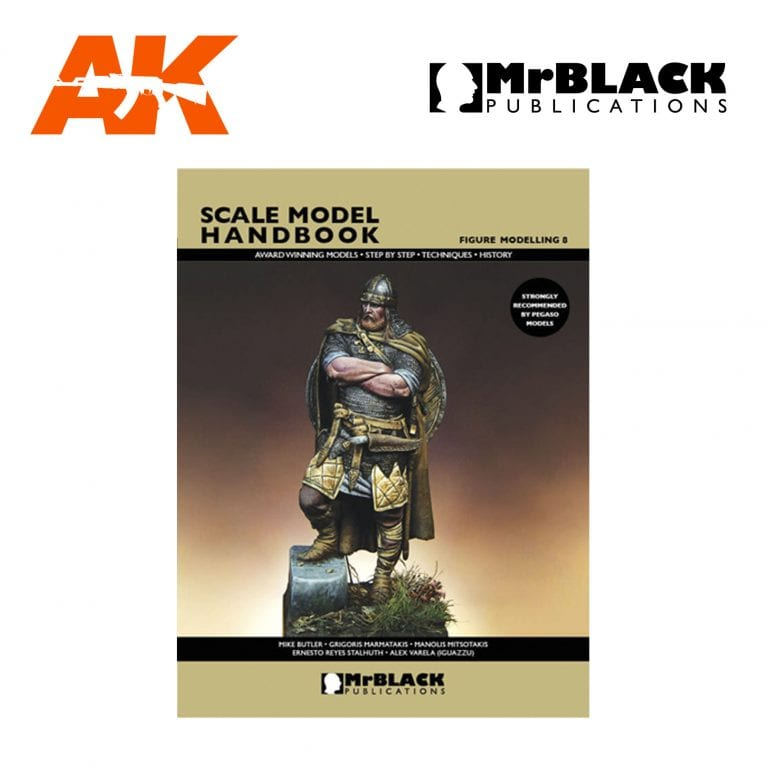 Scale Model Handbook Figure modelling 8 mr black publications ak-interactive