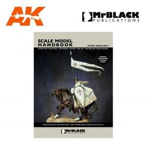 Scale Model Handbook Figure modelling 9 mr black publications ak-interactive