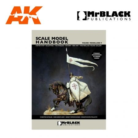 Scale Model Handbook Figure modelling 9 mr black publications ak-interactive