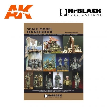 Scale Model Handbook WWII SPECIAL 3 mr black publications ak-interactive