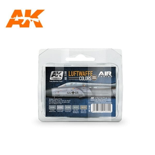 AK2180 LUFTWAFFE COLORS 1990S 2000S akinteractive