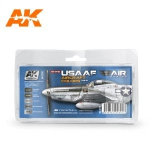 AK2210 WW2 USAAF AIRCRAFT COLORS VOL.2 akinteractive