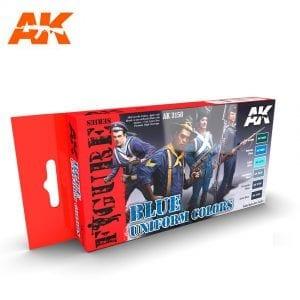 AK3150 acrylic paint set akinteractive modeling