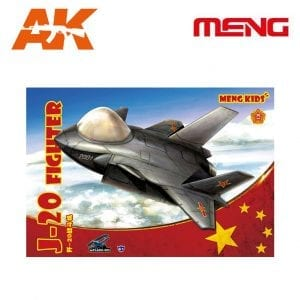 MM MPLANE005 J20 FIGHTER CARTOON MENG AK-INTERACTIVE