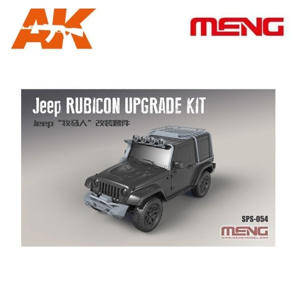 MM SPS-054 JEEP RUBICON UPGRADE SET RESIN AK-INTERACTIVE MENG