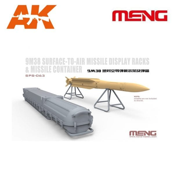 MM SPS-063 RUSSIAN SURFACE-TO-AIR MISSILE DISPLAY MENG AK-INTERACTIVE