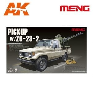 MM VS-004 1/35 VS-004 PICKUP w/ZU-23-2 AK-INTERACTIVE MENG