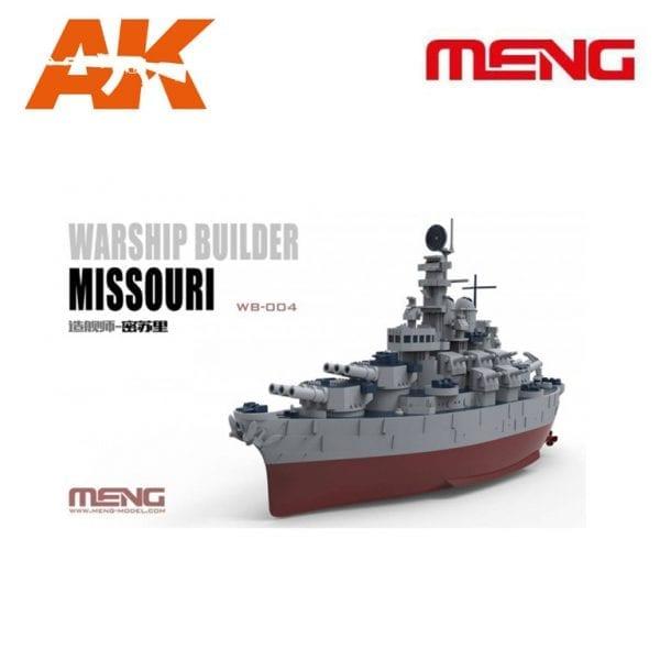 MM WB-004 Warship Builder Missouri AK-INTERACTIVE MENG