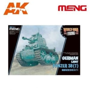 MM WWT-011 German Light Panzer 38(T) AK-INTERACTIVE MENG