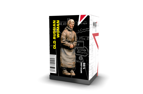 MP35-288 old russian woman resin mig productions ak-interactive