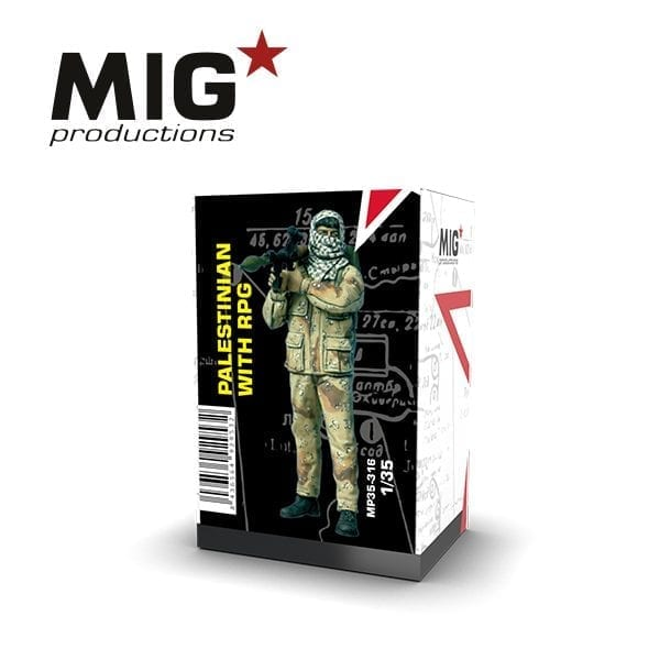 MP35-316 PALESTINIAN WITH RPG AK-INTERACTIVE MIGPRODUCTIONS