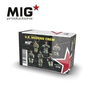 MP72-411 US MODERN CREW AK-INTERACTIVE RESIN FIGURE MIGPRODUCTIONS