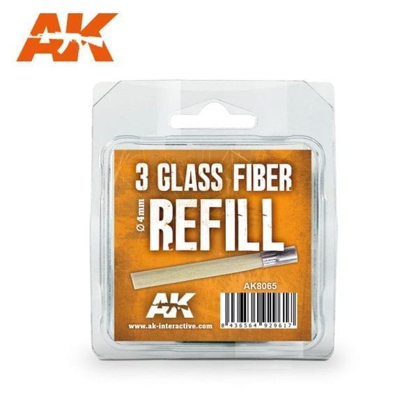 AK8065 glass fiber refill