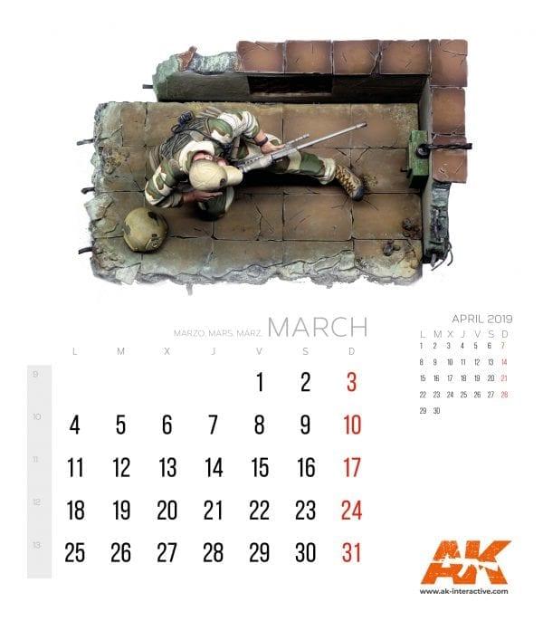 Calendario AK 2019