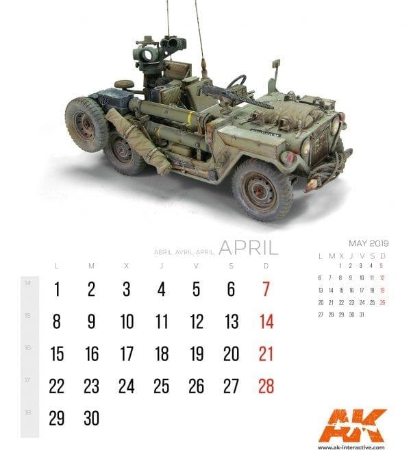 Calendario AK 20192