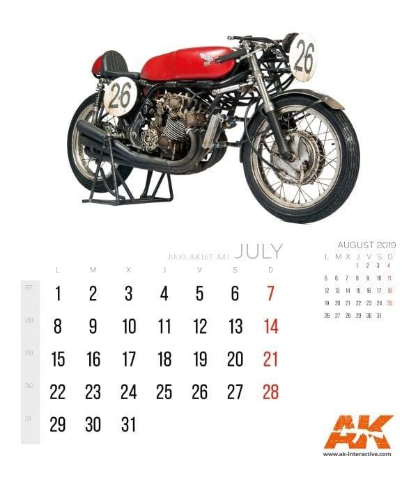 Calendario AK 20193