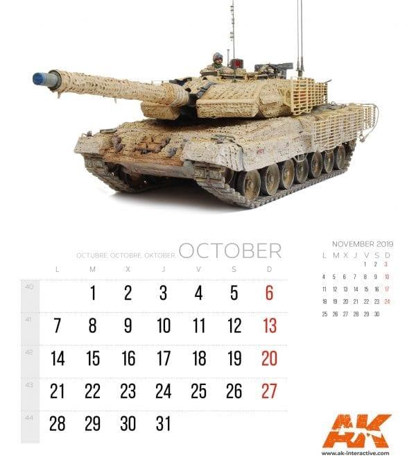Calendario AK 20194